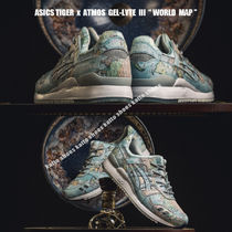 ASICS Tiger x ATMOS GEL-LYTE III TIGER WORLD MAP★コラボ