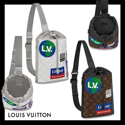 Louis Vuitton★モノグラム チョーク・スリングバッグ 2色展開