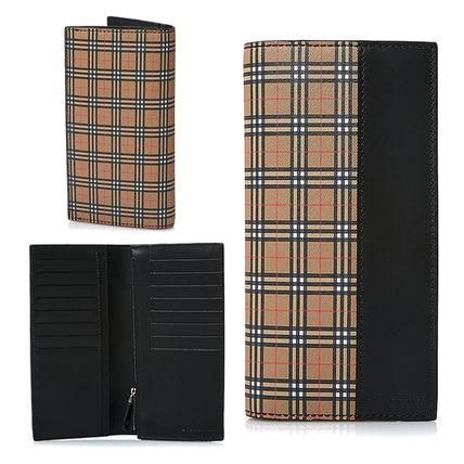☆BURBERRY☆SCALE CHECK LONG WALLET バーバリー長財布