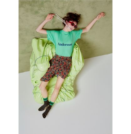ANDERSSON BELL Tシャツ・カットソー [Andersson Bell] ★ UNISEX  SIGNATURE EMBROIDERY T-SHIRT(5)