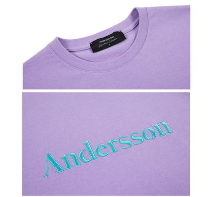 ANDERSSON BELL Tシャツ・カットソー [Andersson Bell] ★ UNISEX  SIGNATURE EMBROIDERY T-SHIRT(16)