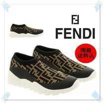 関送込★FENDI FF TECHNICAL MESH SOCK SNEAKER スリッポン