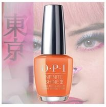 OPI  INFINITE SHINE ISL T89  Tempura-ture is Rising! 送料込