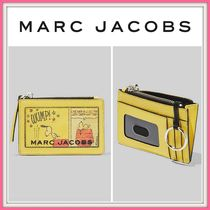 コラボ!☆PEANUTS X MARC JACOBS☆THE BOX TOP-ZIP MULTI WALLET