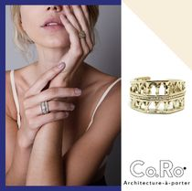 VOGUE掲載!日本完全未入荷 Co.Ro.Jewels PORTICI RING GOLD