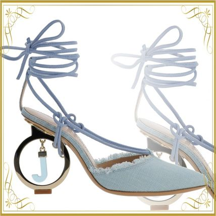 JACQUEMUS サンダル・ミュール 関税込◆LES CHAUSSURES RIVIERA SANDALS TURQUOISE
