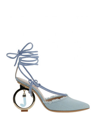 JACQUEMUS サンダル・ミュール 関税込◆LES CHAUSSURES RIVIERA SANDALS TURQUOISE(2)
