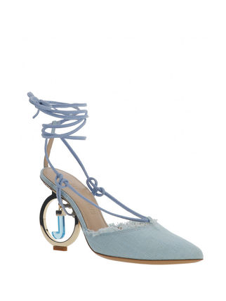 JACQUEMUS サンダル・ミュール 関税込◆LES CHAUSSURES RIVIERA SANDALS TURQUOISE(3)