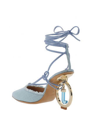 JACQUEMUS サンダル・ミュール 関税込◆LES CHAUSSURES RIVIERA SANDALS TURQUOISE(4)