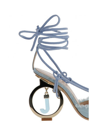 JACQUEMUS サンダル・ミュール 関税込◆LES CHAUSSURES RIVIERA SANDALS TURQUOISE(5)