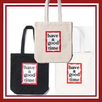 have a good time■Frame Tote Bag■エコバッグ■トートバッグ