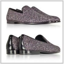 JIMMY CHOO /Marlo Twilight Glitzyグリッターファブリック