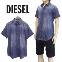 DIESEL ダンガリーシャツ SXQE-0QAPM D-KENDALL CAMICIA