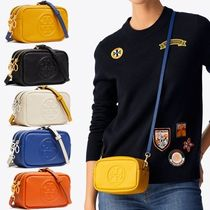 関税負担!Tory Burch★PERRY BOMBE MINI BAG ダブルジップ