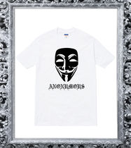 【tee-anonymousff】ANONYMOUS/アノニマス/ユニセックス/仮面