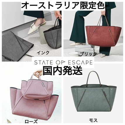 State of Escape マザーズバッグ 国内発送/State of Escape/*新色* GUISEウォッシュドトート