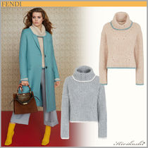 ◆FENDI 19AW◆JUMPER◆Cashmere sweater with polo neck◆2色