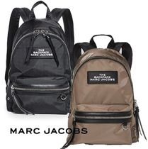 MARC JACOBS ナイロン ロゴパッチ バックバック 男女兼用♪