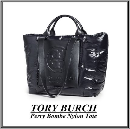 TORY BURCH PERRY ナイロン トートバッグ★国内発送・関税/送料込★