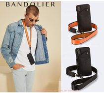 新作!! Bandolier*iPhone XS/X,XS Max,XR*Men*オレンジ&ブラック