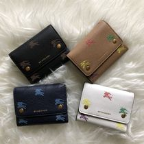 Burberry Small EKD Leather Wallet