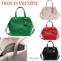 大人気!FRANCES VALENTINE☆Sabrina Satchel Tumbled Leather