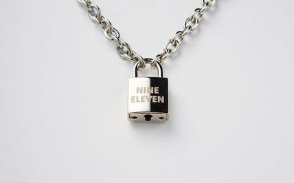 ネックレス・チョーカー 【NINE ELEVEN】NE Lock Pendant Necklace-W(5)