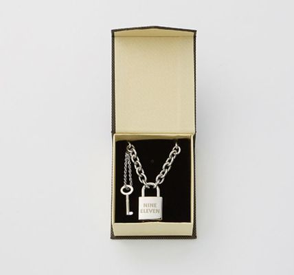 ネックレス・チョーカー 【NINE ELEVEN】NE Lock Pendant Necklace-W(7)