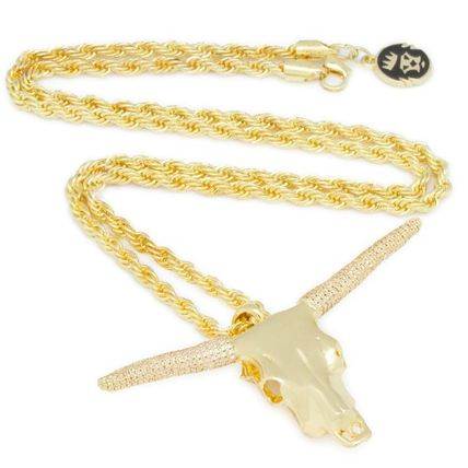 King Ice ネックレス・チョーカー 【King Ice】☆新作☆ The Longhorn Bull Necklace(5)