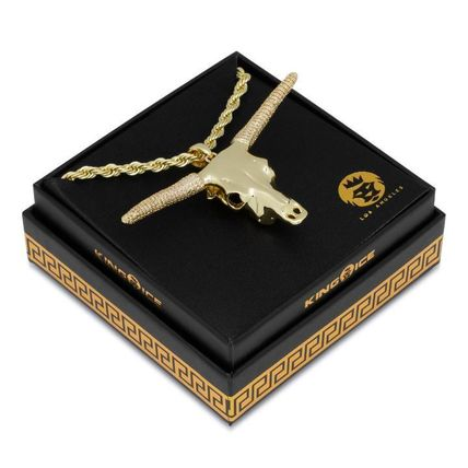 King Ice ネックレス・チョーカー 【King Ice】☆新作☆ The Longhorn Bull Necklace(6)