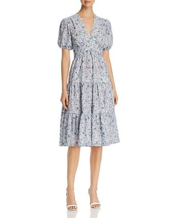 TORY BURCH Printed Lace Dress