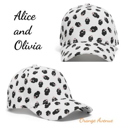 Alice and Olivia★アリスオリビアSTACEFACE BASEBALL キャップ