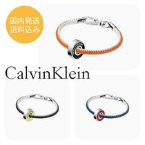 CalvinKleinカルバンクラインBEARING BEADED LEATHER BRACELET