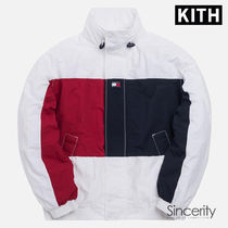 KITH TOMMY HILFIGER COLORBLOCK SAILING JACKET/ WHITE / SMALL