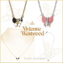 19SS新作★vivienne westwood★BUTTERFLYネックレス/2色より