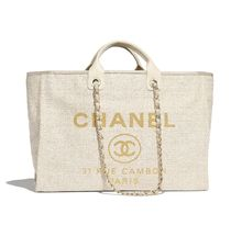 CHANEL シャネル Large DEAUVILLE Tote A93786 Y84118 10800