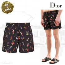【DIOR HOMME】☆Floralプリント スイムパンツ☆