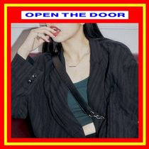 [OPEN THE DOOR]  pipe stick necklace (2 color)/追跡付