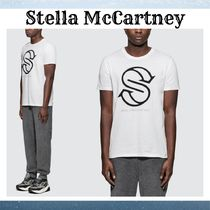 『Stella McCartney』Big Logo Tシャツ 白☆関税込*★