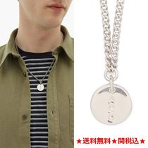 A.P.C.★新作★Casey ロゴ刻印ネックレス Silver
