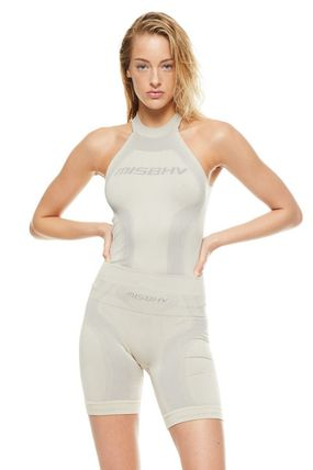 MISBHV Tシャツ・カットソー ★MISBHV★The Classic Active Halter Top Beige★関税 送料込★(2)