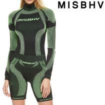 ★MISBHV★ The Classic Active Top Black/Green★関税 送料込★
