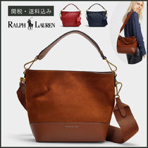 【POLO RALPH LAUREN】 Nubuck Small Sullivan Bag 2WAY バッグ