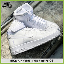 ★Nike★Air Force 1 High Retro QS★追跡可 743546-107