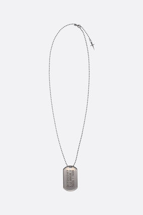GIVENCHY ネックレス・チョーカー GIVENCHY METAL NECKLACE WITH LOGOED TAG(3)