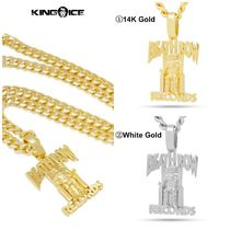 【King Ice】☆新作☆ King Ice x Death Row Records Necklace