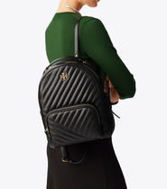 Tory Burch(トリーバーチ) KIRA CHEVRON ZIP-AROUND BACKPACK