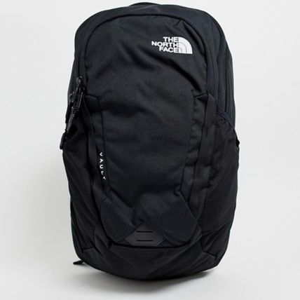THE NORTH FACE バックパック・リュック The north face ノースフェイス ロゴ 黒  リュック vault
