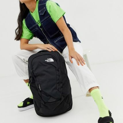 THE NORTH FACE バックパック・リュック The north face ノースフェイス ロゴ 黒  リュック vault(4)