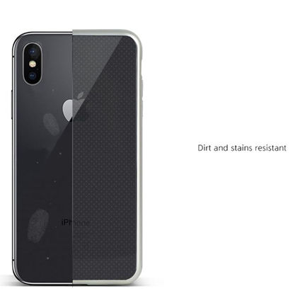 DESIGN SKIN スマホケース・テックアクセサリー [DESIGN SKIN]★4色★MATTE METALIC CLEAR TPU CASE(4)